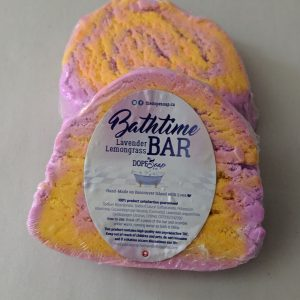 lavender lemongrass bath-time bar
