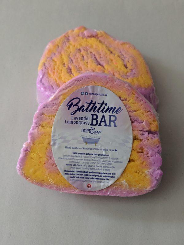 lavender lemongrass bath-time bar